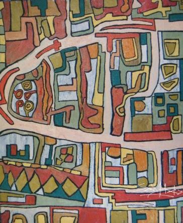 Newtown 2. Oil on Canvas copy