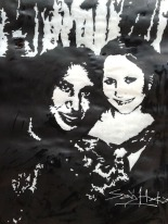 Sarj And Kerri.Acrylic on Cartridge Paper copy