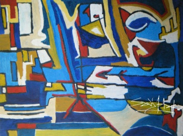 Untiled-oil on canvas-1200mm length*920mm width
