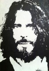 Chris Cornell Acrylic on Mdf