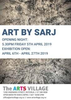 ART BY SARJ poster 2