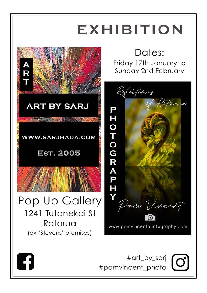 Pop up Exhibiton Poster