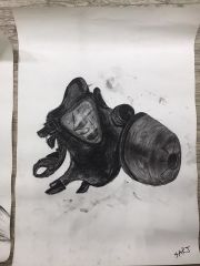 A study of a mask from World War 2